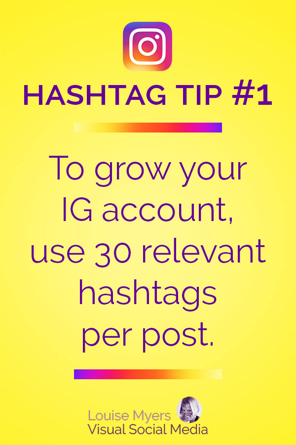 The maximum allowed Instagram hashtags is 30