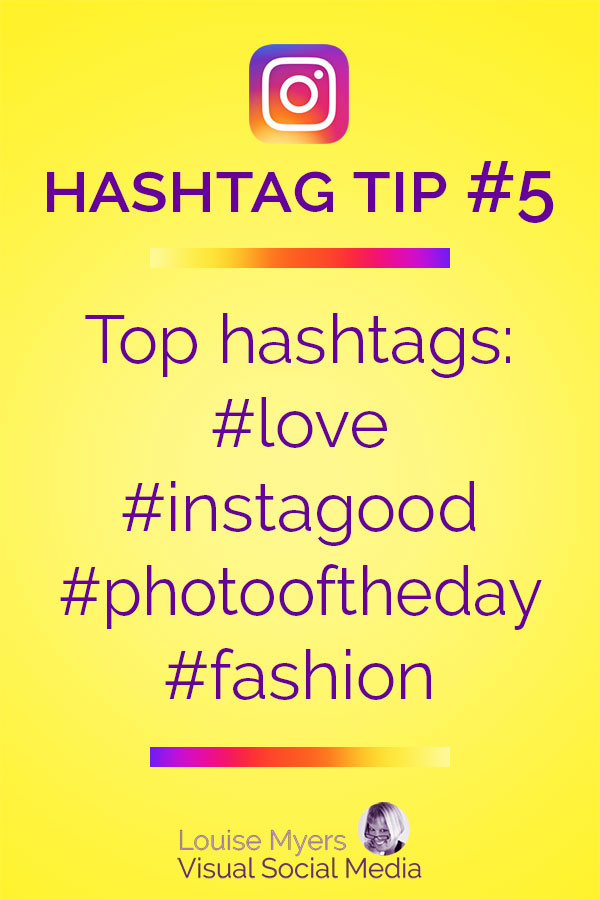Most popular Instagram hashtags list