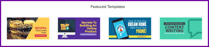 facebook link image templates