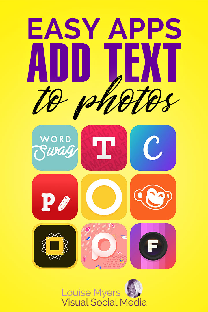 Ultimate List 20 Iphone Apps To Add Text To Photos