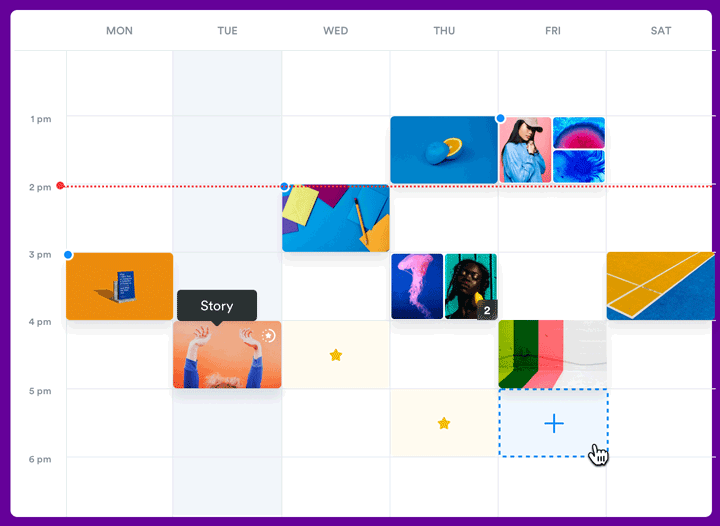 iconosquare Instagram schedule
