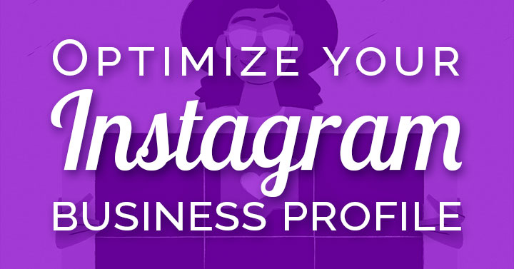 Instagram profile for business header