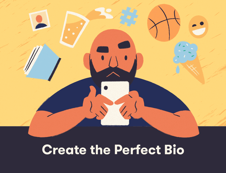 Craft the perfect Instagram bio banner