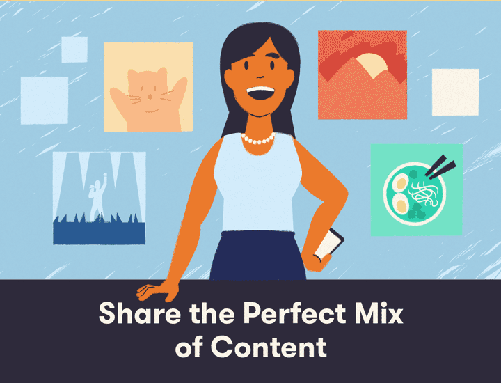Share the best Instagram content banner
