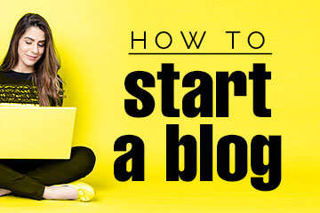 how to start a blog link