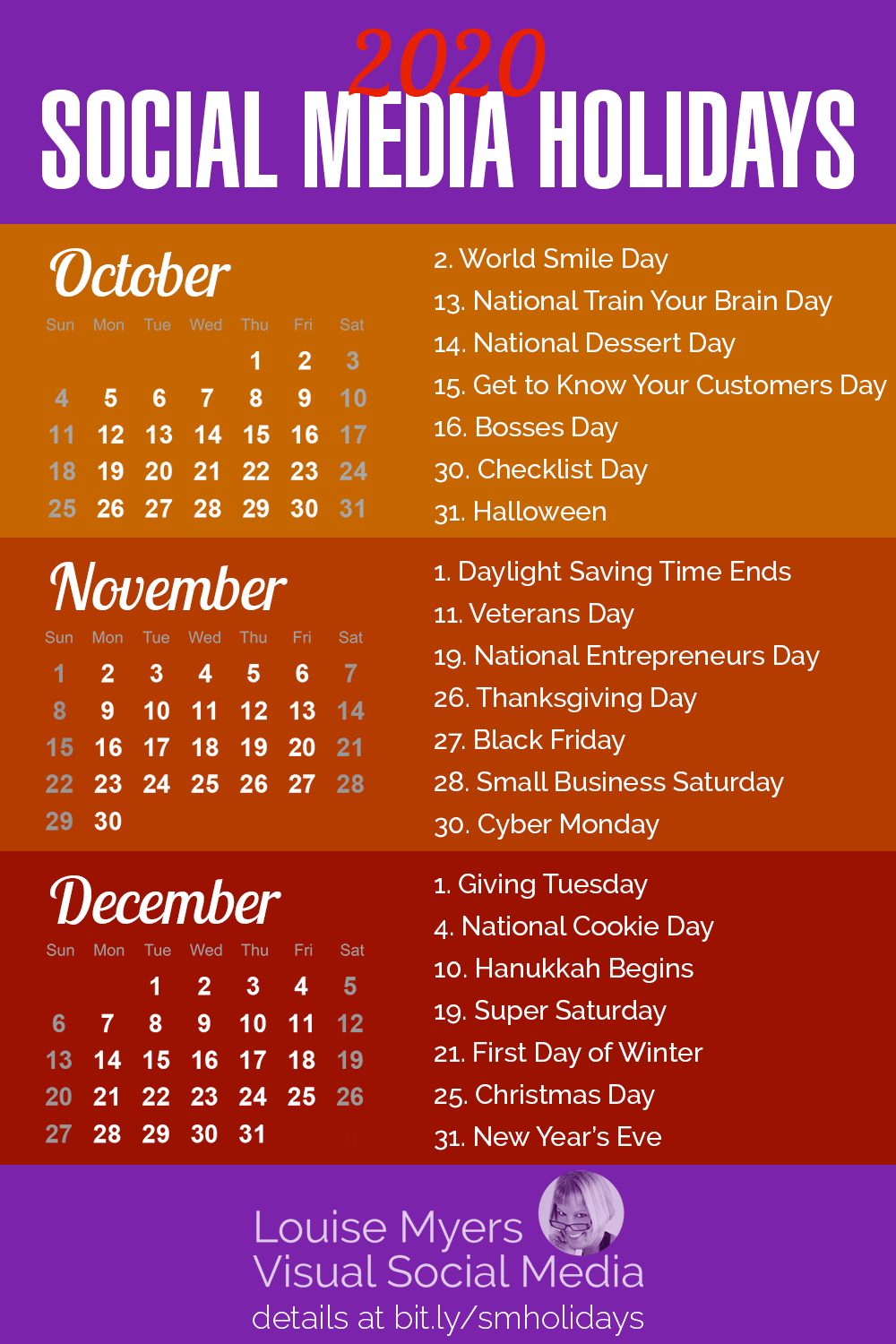 Halloween Holiday 2020 100+ Social Media Holidays You Need in 2020 21: Indispensable!