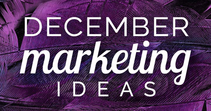 December marketing ideas banner