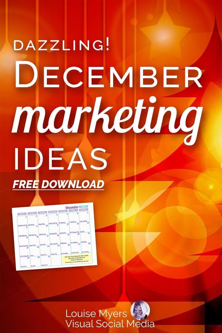 November marketing ideas Pinterest image