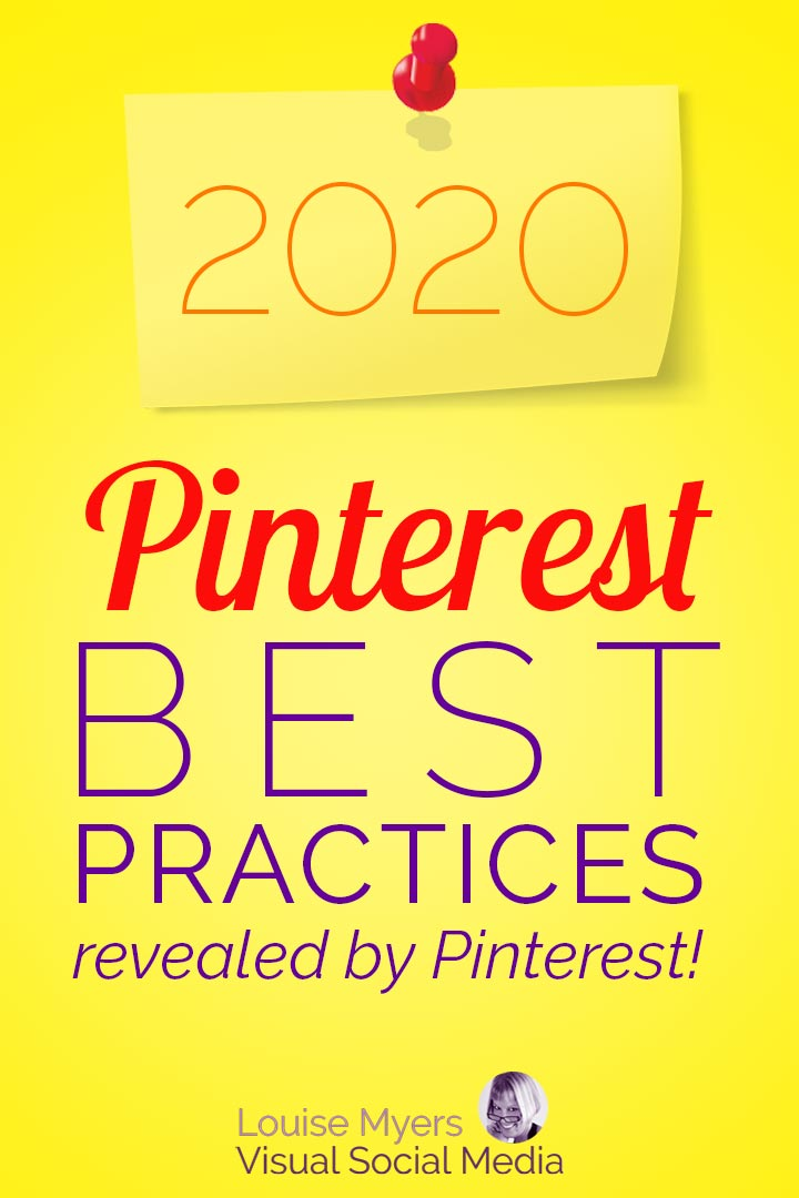 2020 Pinterest marketing best practices pin