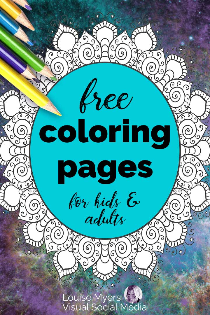 free color pages pin image