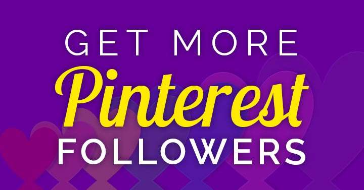 how to get followers on Pinterest banner