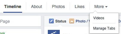 how to add facebook notes tab