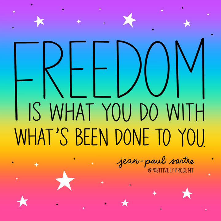 freedom is what you do quote