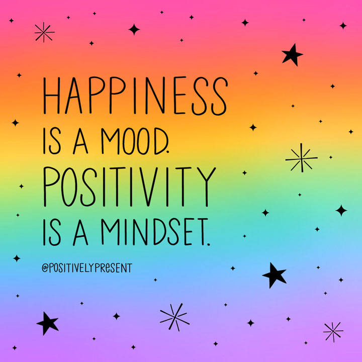 positivity is a mindset quote