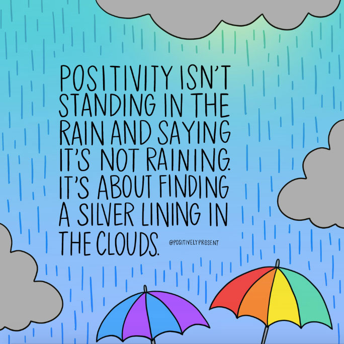 find the silver lining quote