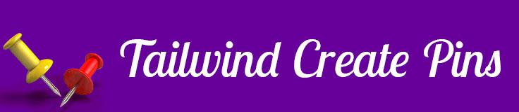 tailwind create pins banner