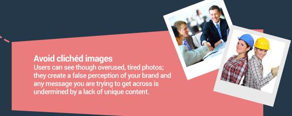 cliche image examples.