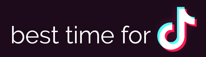 Best time to post to TikTok banner
