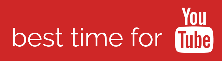 Best time to post to YouTube banner
