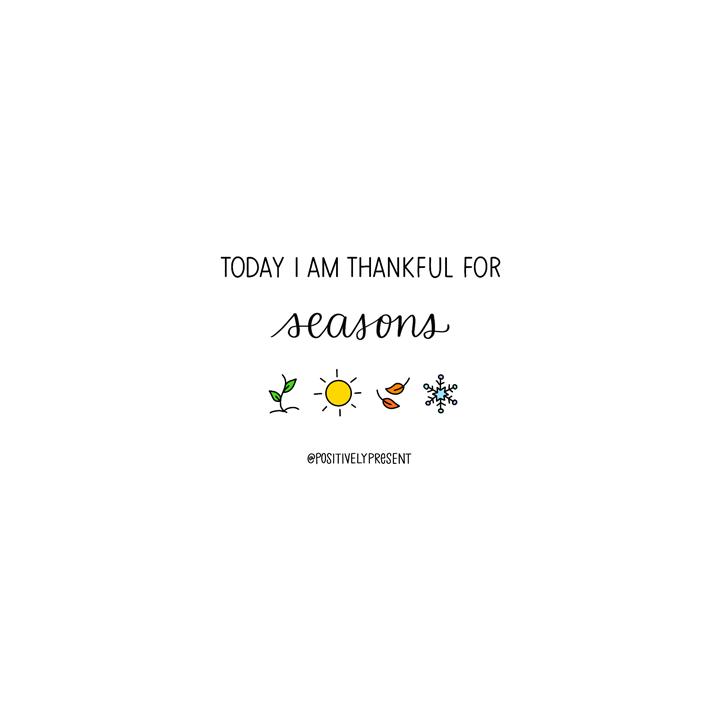 artwork for gratitude challenge thankful for seasons.