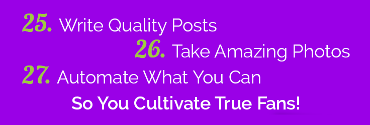 Social Media Principles 25 to 27
