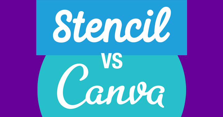 Stencil vs Canva header image
