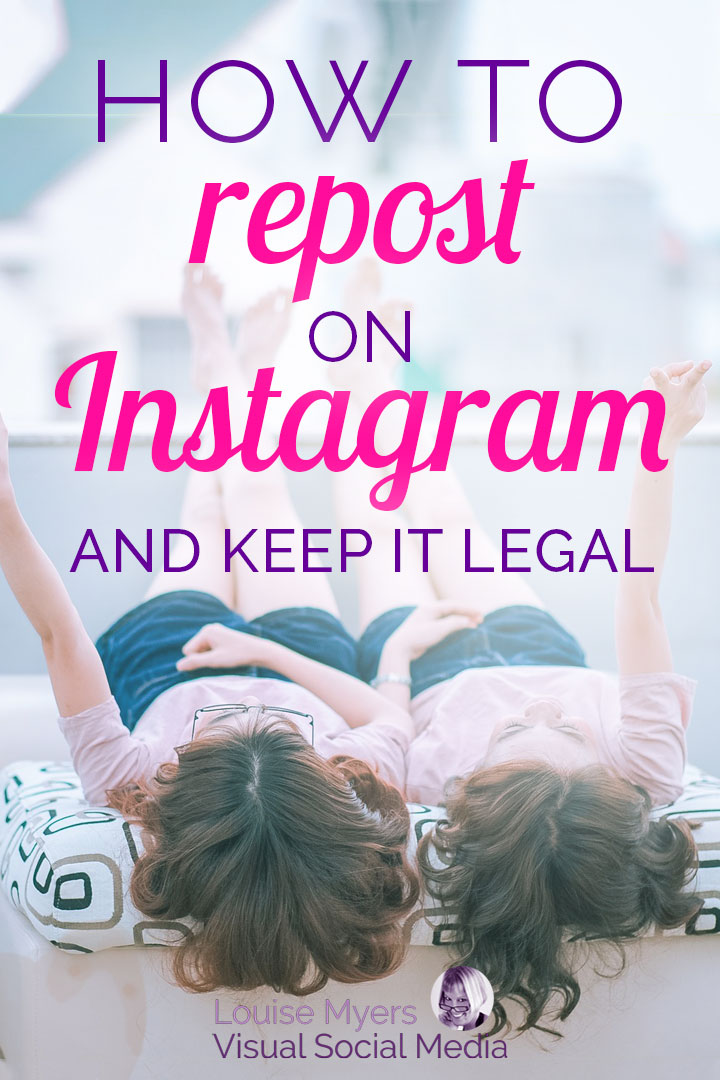 how to repost on instagram pinnable graphic
