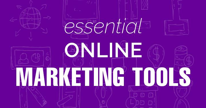 Online Marketing Tools banner image.