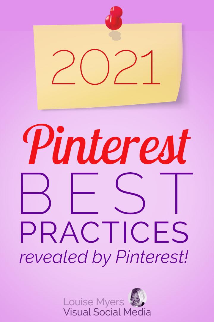 2021 Pinterest marketing best practices pin