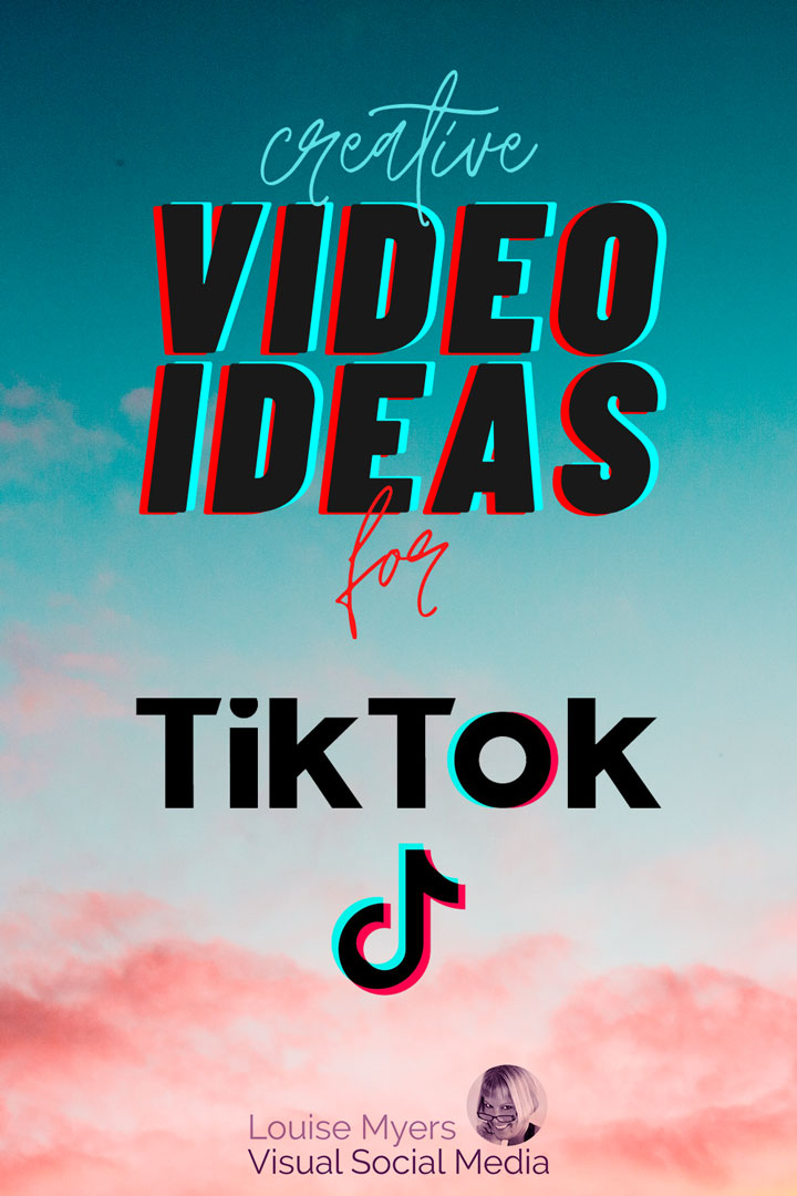 pinnable sunrise photo with text creative tiktok video ideas.