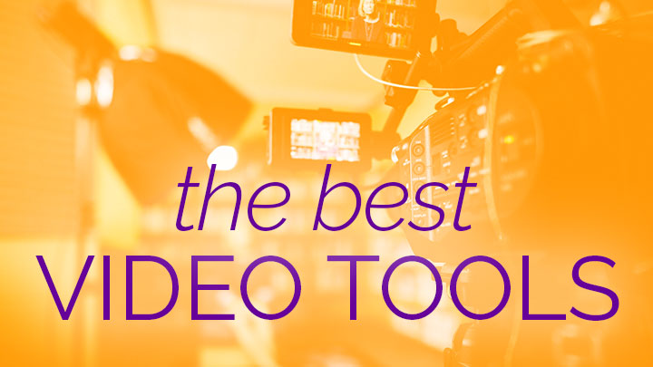 video tools banner graphic.
