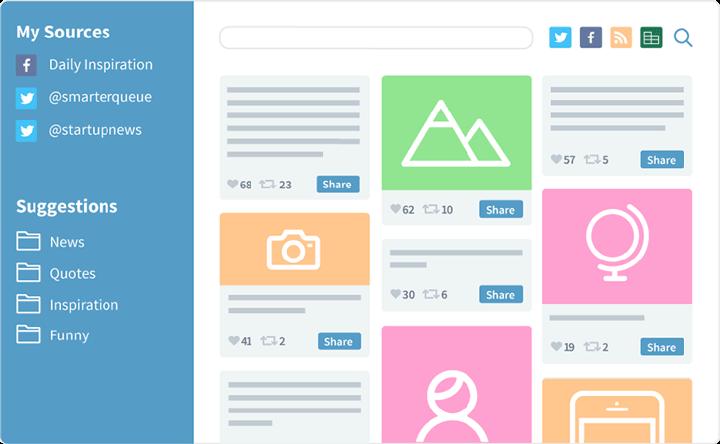 Explore publicaciones exitosas en redes sociales al estilo de Pinterest.