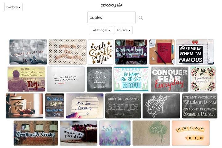 Encuentra la imagen perfecta o GIF para usar en la captura de pantalla de tu publicación de Facebook.