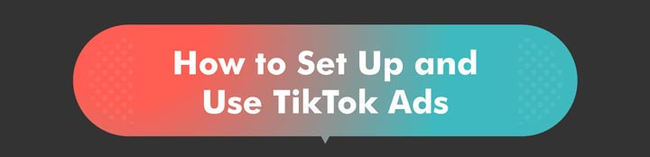 How to Set Up TikTok Ads banner graphic.